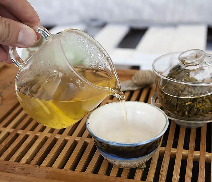 TEA-CH103 Зеленый чай «Изумрудные Спирали Весны» из Банна (Би Ло Чунь, 50 гр) фото 09