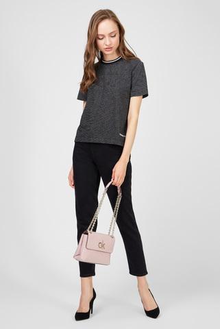 Женские черные джинсы MOM Calvin Klein