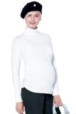 Водолазка для беременных 03731 белый