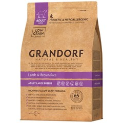 Grandorf Dog Large Breeds сухой корм для собак крупных пород (ягнёнок с рисом) 3кг