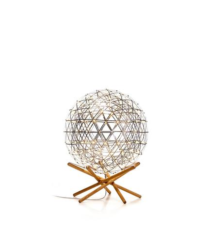 Напольная лампа копия  Raimond Tensegrity by Moooi (золотой, D 61 cm)