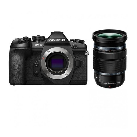 Olympus OM-D E-M1 Mark II Kit 12-100mm PRO Black