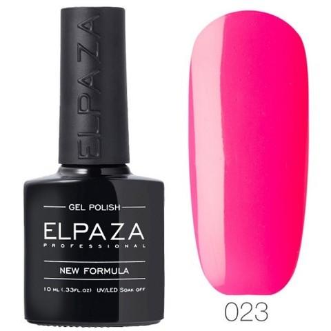 Гель лак Elpaza 023 Розовый неон