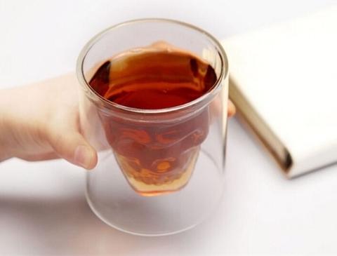Стакан для виски Череп, большой