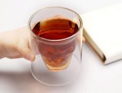 Стакан для виски Череп, большой, фото 1