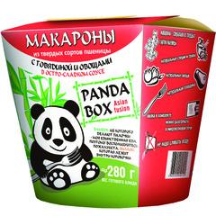 Макароны б/п PANDABOX с говядиной и овощами в остро-сладком соусе [картон 58г*9]