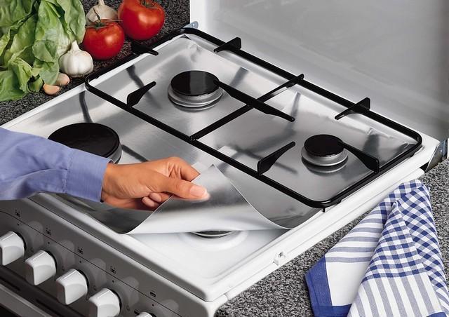 Товары для кухни Защитная фольга для газовой плиты фольга.jpg