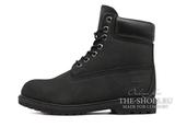 Женские Ботинки Timberland 10061 Waterproof Black (Осенние)