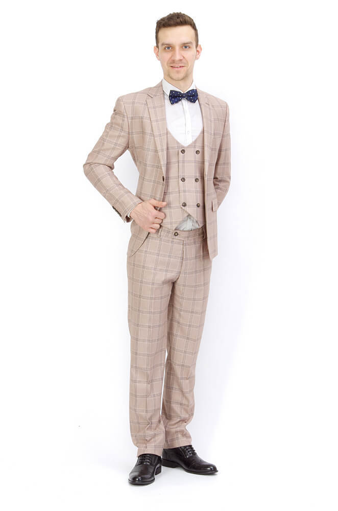 Костюмы Slim fit CESARE MARIANO / Костюм - тройка slim fit IMGP8924.jpg