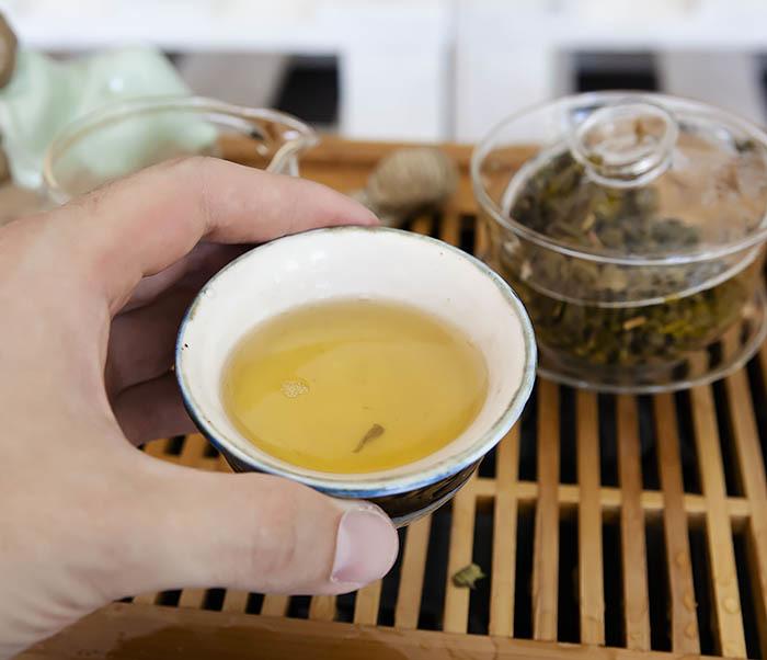 TEA-CH103 Зеленый чай «Изумрудные Спирали Весны» из Банна (Би Ло Чунь, 50 гр) фото 12