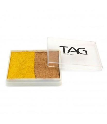 Аквагрим TAG 50 гр перламутровый золото/ старое золото