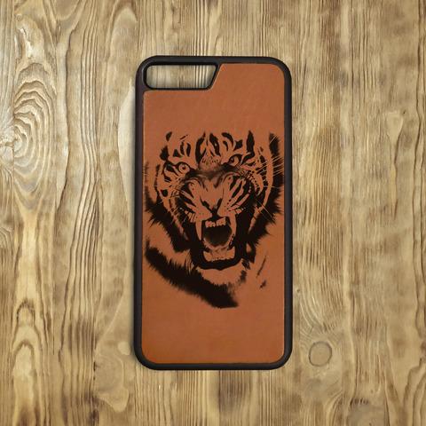 """Бампер """"Тигриная ярость"""", рыжий"""