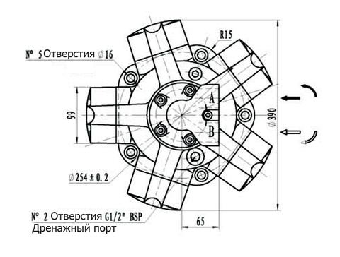 Гидромотор IPM4-700