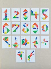 Танграм с карточками, RadugaKids (Радуга Кидс)