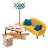 Мебель для кукольного дома Оранжевая гостиная