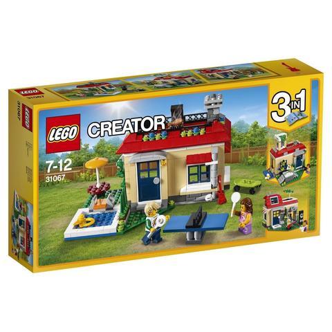 LEGO Creator: Вечеринка у бассейна 31067 — Modular Poolside Holiday — Лего Креатор Создатель