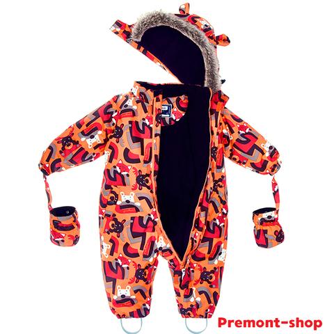 Комбинезон Premont для мальчика Веселые истории Клиффорда WP93064 ORANGE