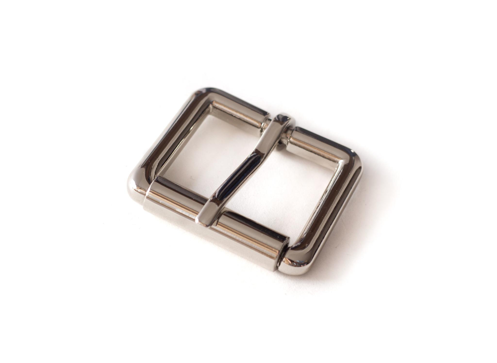 Пряжка с роликом 32 мм, никель