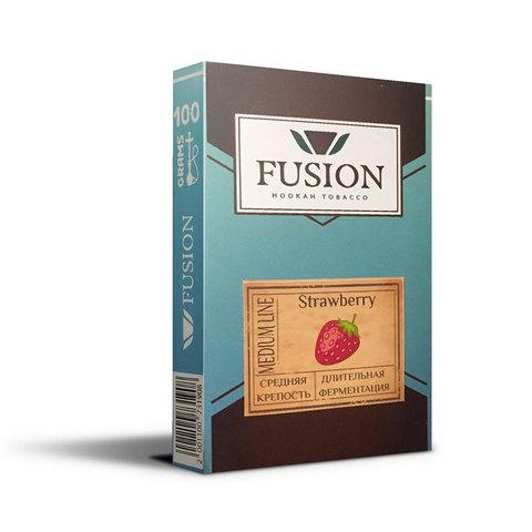 Табак Fusion Medium Strawberry 100 г