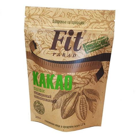 Какао обезжиренный ФитПарад, 150г купить в Ростове
