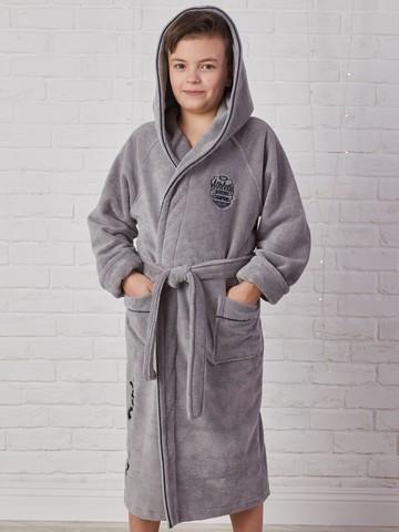 ATHLETIC DEPT (Grey) халат для мальчика  Five Wien (Турция)