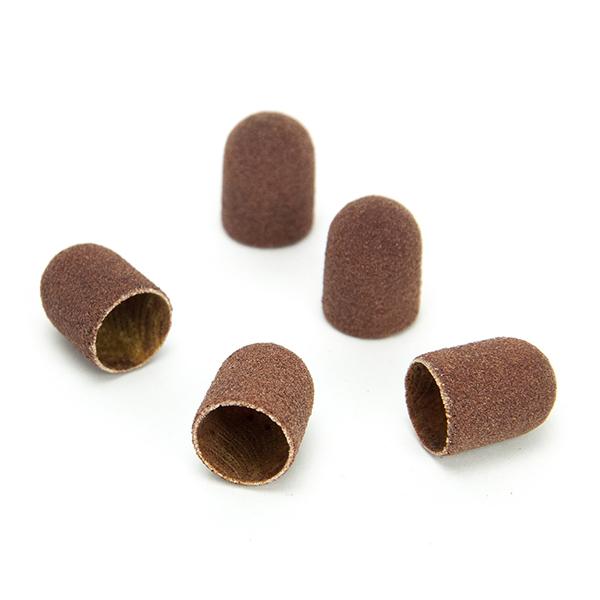 Абразивные и резиновые ruNail, Колпачок абразивный, 7*13 мм, 80 грит (5 шт.) 07397.jpg