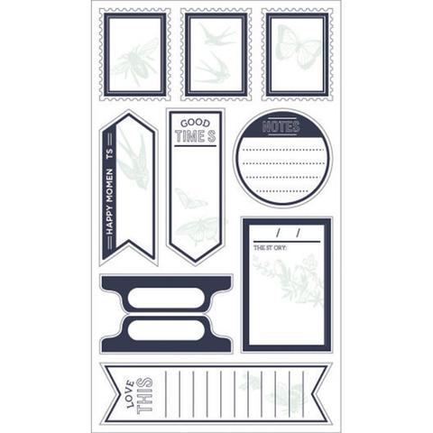 Набор стикеров We R Typecast Large Labels