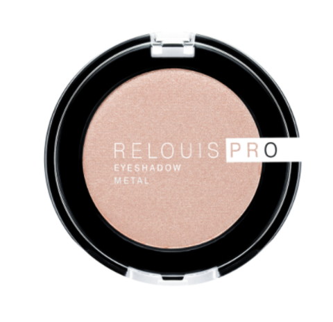 RELOUIS Тени Pro Eyeshadow Metal  тон 51,peachy keen