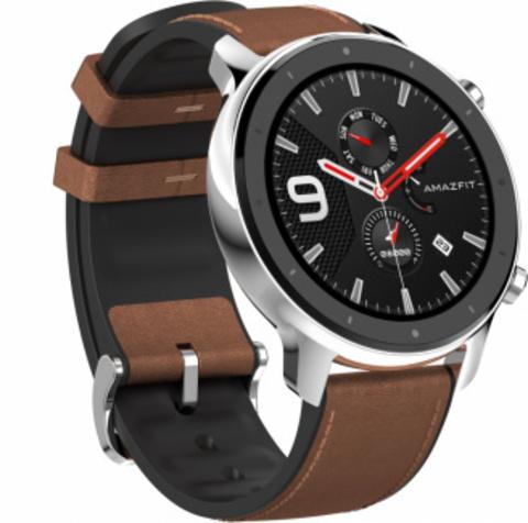 Смарт часы Xiaomi Amazfit GTR 47mm Stainless Steel