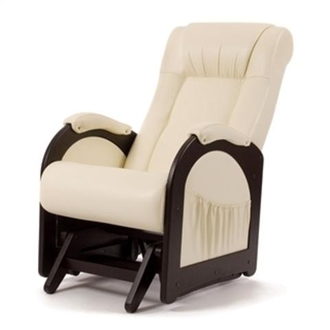 Кресло гляйдер Мод.48 (Орегон перлам-106) жемчужный