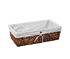 Плетеная корзина для ванной WasserKRAFT Exter WB-160-L