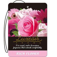 Картонный освежитель воздуха для автомобиля CARALL LUXEAIR 4114 (rich flower)