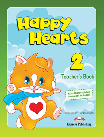 Happy Hearts 2 - Teacher's Book (interleaved)