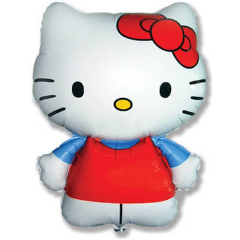 Фигура фольга Hello Kitty