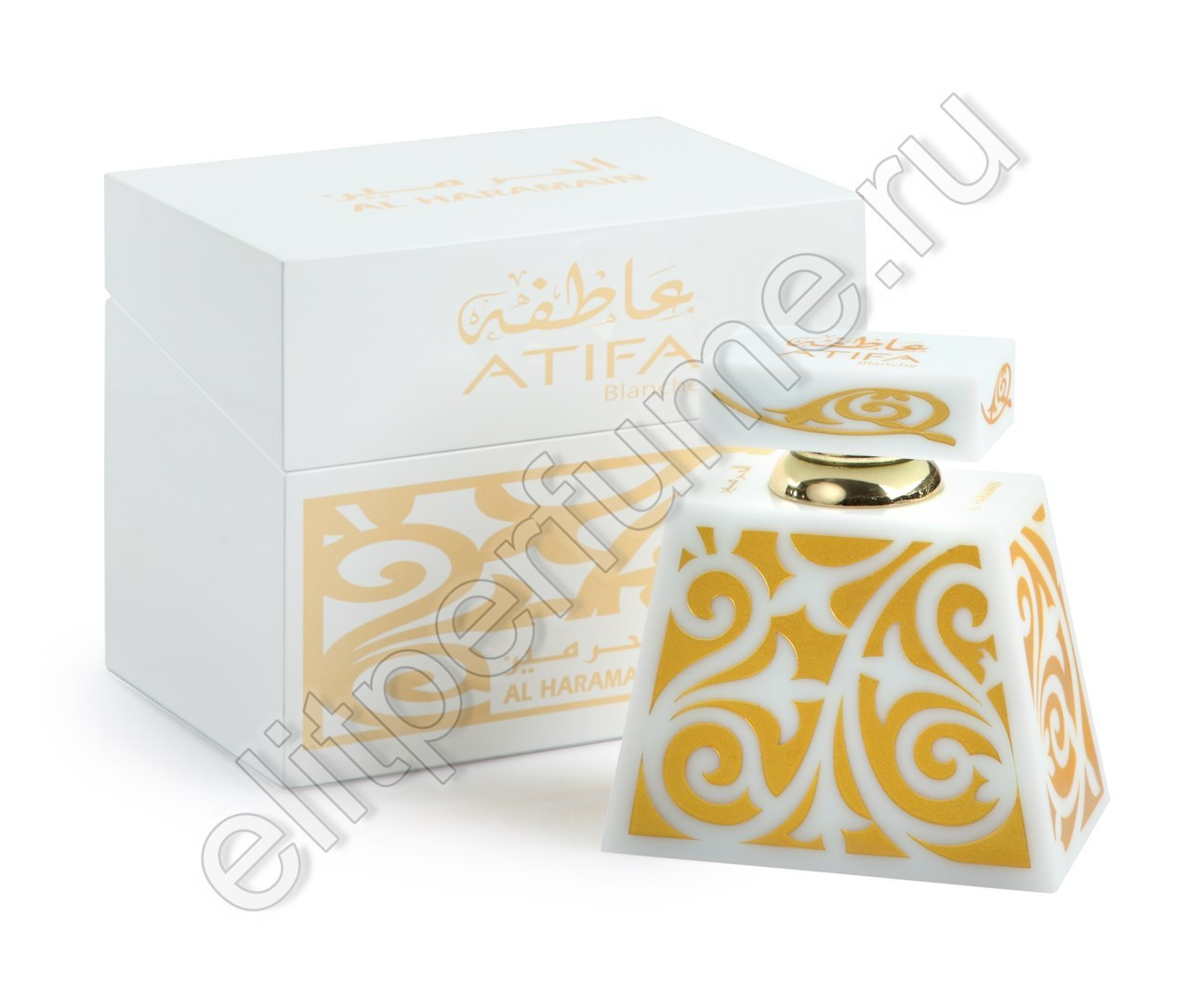 Атифа Бланш Atifa Blanche 24 мл арабские масляные духи от Аль Харамайн Al Haramain Perfumes