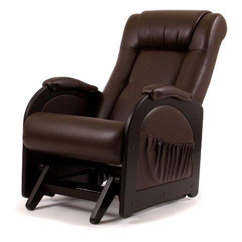 Кресло гляйдер Мод.48 (Орегон перлам-120) темно-коричневый
