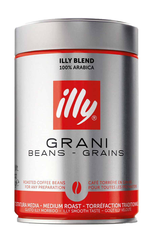 Кофе в зернах ILLY средней обжарки