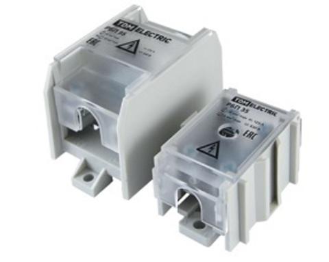 Распределительный блок проходной РБП 35 (1х35 - 4х6 мм2) 125/50 А TDM