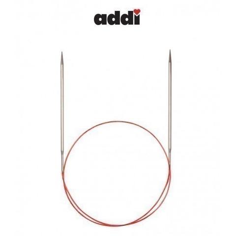 Спицы Addi круговые с удлиненным кончиком для тонкой пряжи 40 см, 3.5 мм