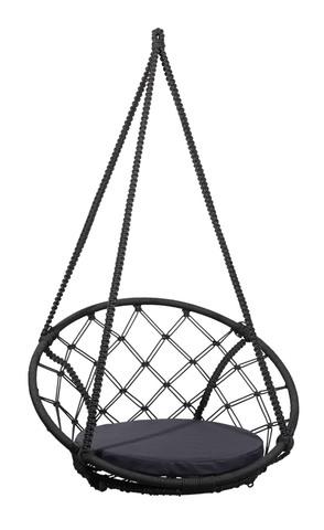 Складное кресло-кокон AOSTA + черная подушка