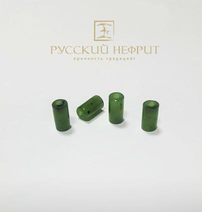 Вставки Трубочки бусины. Зелёный нефрит. trubochki.jpg