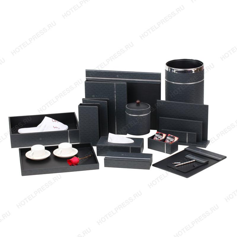 Серый набор с белой отделкой отеля Pullman