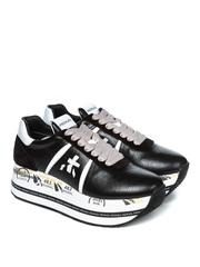 Кожаные кроссовки Premiata Beth 4842 на шнуровке