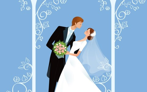 Печать на вафельной бумаге, Свадьба 8
