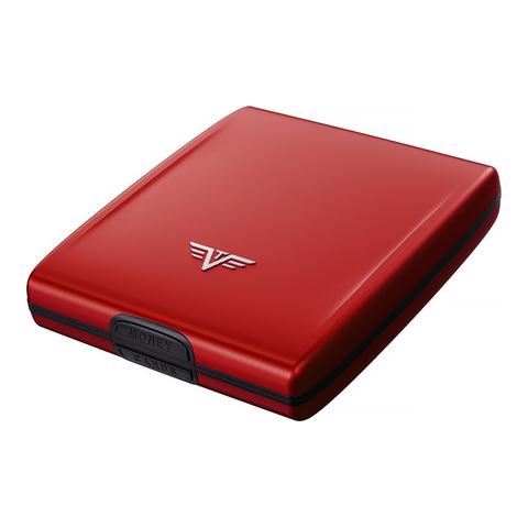 Кошелек c защитой Tru Virtu Beluga, красный, 107x93x22 мм