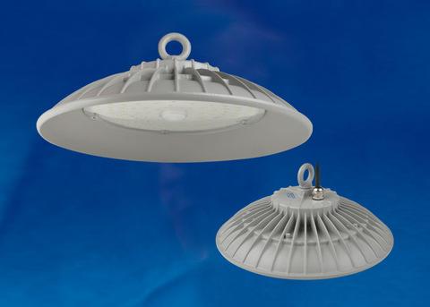 ULY-U33B-100W/DW IP65 SILVER Светильник светодиодный промышленный. Дневной белый свет (6500K). Угол 60 градусов. TM Uniel.