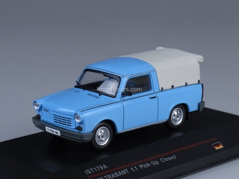 Trabant 1.1 Pick-Up Closed light blue 1990 IST179A IST Models 1:43