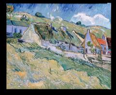 """Репродукция """"Ван Гог - Домики с соломенными крышами"""""""