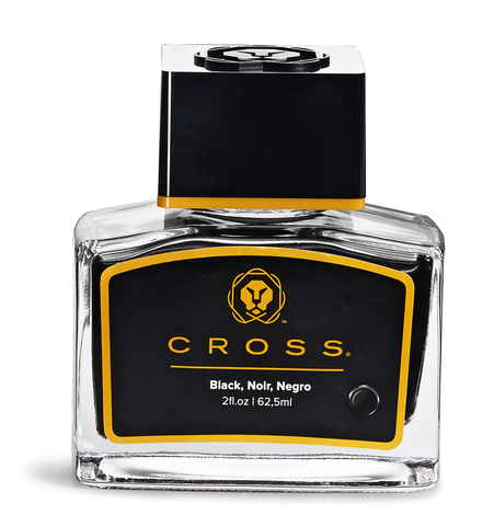 Чернила Cross  (8945S-2 black) во флаконе  черные 625 мл
