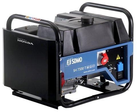 Кожух для бензинового генератора SDMO SH7500TE-2 Auto (6000 Вт)